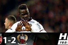 Balotelli lập cú đúp, Nice phả hơi nóng vào gáy Monaco