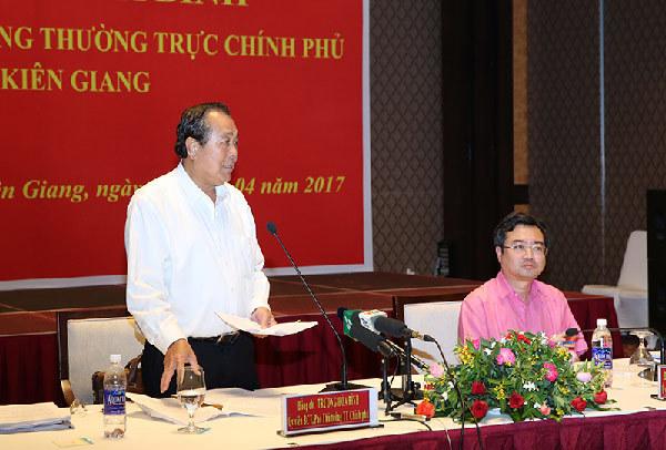 Xây dựng đề án đơn vị hành chính-kinh tế đặc biệt Phú Quốc