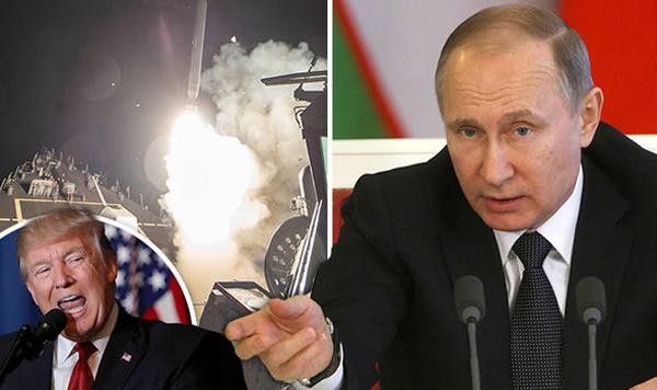 Putin, tên lửa Mỹ, Mỹ đánh Syria