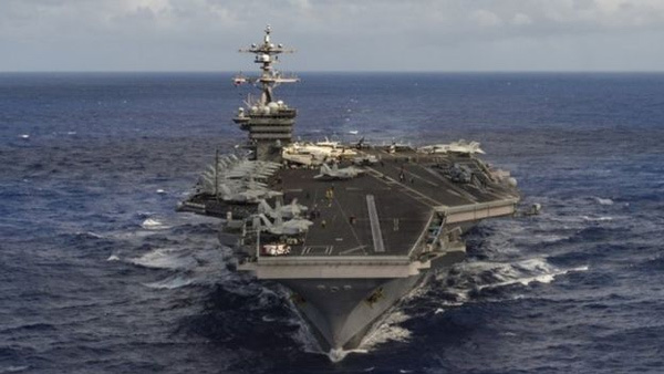 Mỹ điều nhóm tấn công uy lực tới bán đảo Triều Tiên