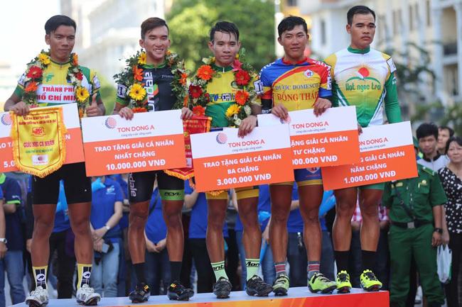 Lý Nhã Kỳ tỏa sáng ở giải xe đạp cúp TH TP.HCM 2017