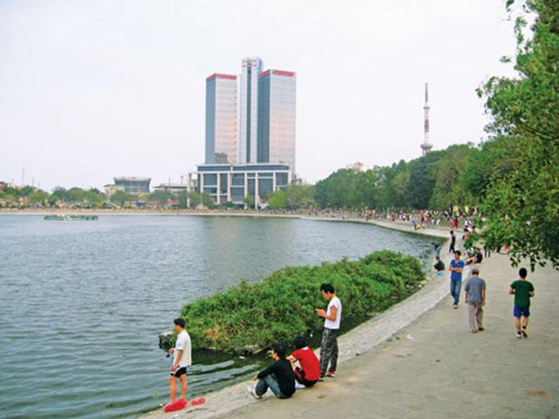 lấp hồ Thành Công, hồ Thành Công, nhà tái định cư, Hà Nội