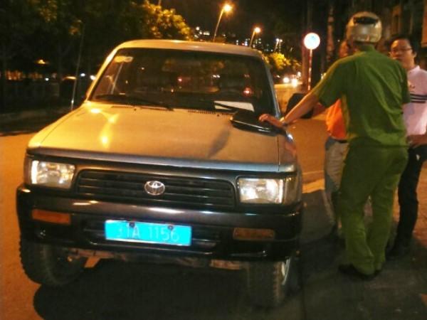 Quận 1, Đoàn Ngọc Hải, xử phạt xe biển xanh, vỉa hè