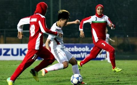 IRAN 1 - 6 VIỆT NAM