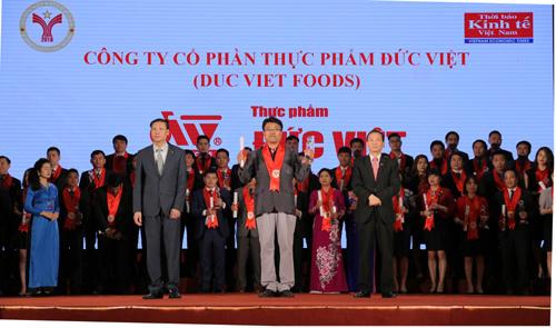 Thực phẩm Đức Việt: Thương hiệu mạnh 2016-2017
