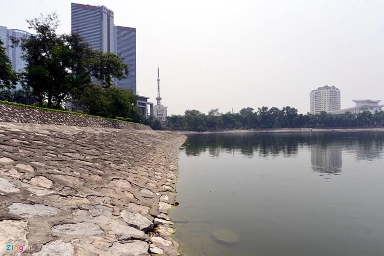 Toàn cảnh hồ Thành Công vừa bị đề xuất lấp để xây nhà
