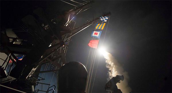 Mỹ, phương án, Mỹ  đánh Syria, tên lửa, Tomahawk, chiến hạm