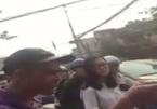 Tài xế ô tô hành hung nữ nhân viên gác chắn tàu đang mang thai