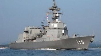 Tàu khu trục Nhật Bản đến Cam Ranh