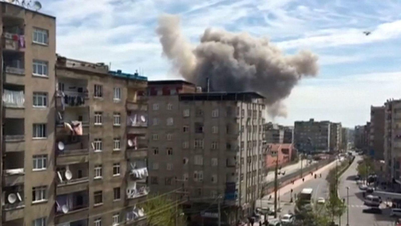 Nổ lớn gần trụ sở cảnh sát Thổ Nhĩ Kỳ