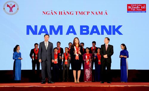 Nam A Bank 3 năm liên tiếp là thương hiệu mạnh VN