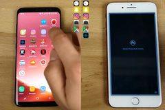 """iPhone 7 Plus cho Galaxy S8 """"hít khói"""" trong bài kiểm tra tốc độ"""
