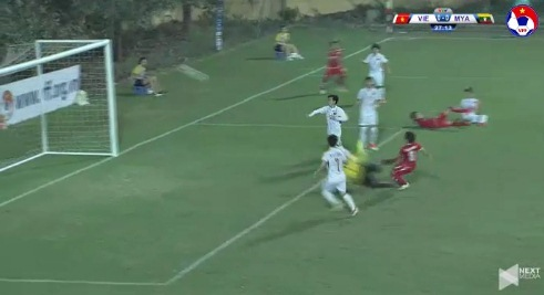 Nữ Việt Nam 0-0 Nữ Myanmar phút thứ 27