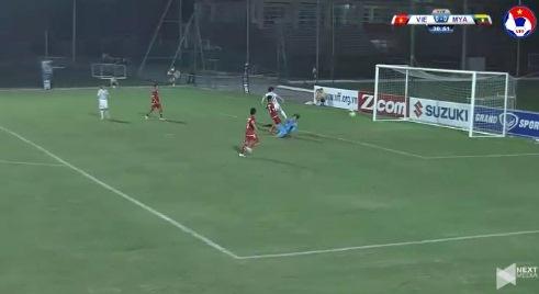 Nữ Việt Nam 0-0 Nữ Myanmar phút thứ 31