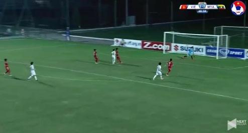 Nữ Việt Nam 0-0 Nữ Myanmar phút thứ 41