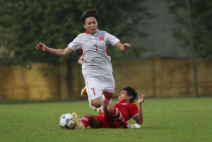Phát lại chiến thắng đưa tuyển nữ Việt Nam đến Asian Cup 2018