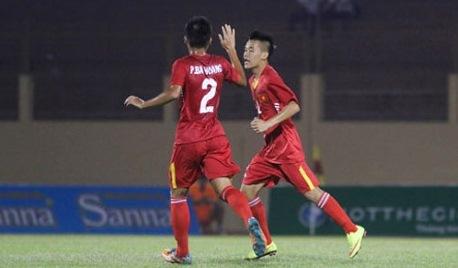 Video bàn thắng U19 Việt Nam 2-0 U19 Đài Loan