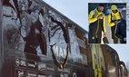 Ba quả bom phát nổ, cầu thủ Dortmund đi cấp cứu
