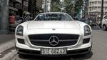 Siêu xe Mercedes SLS mui trần duy nhất tại Việt Nam của đại gia cà phê