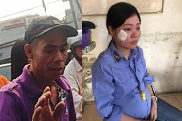 Công an vào cuộc vụ nữ nhân viên gác chắn bị hành hung