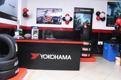 Yokohama ra mắt cửa hàng dịch vụ lốp tiêu chuẩn Nhật