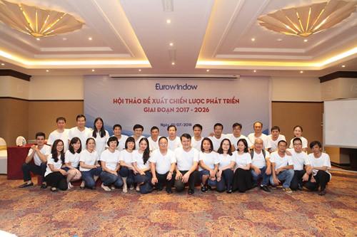 Eurowindow vào Top 100 Nơi làm việc tốt nhất Việt Nam