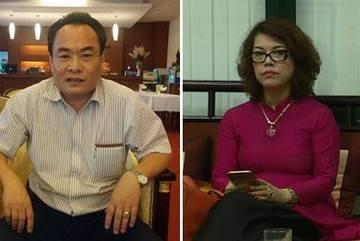 Bắt ông Trần Đức Trung và bà Lê Thị Hằng