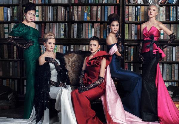 30 người mẫu ngoại quốc trình diễn trong 'One night in Paris'