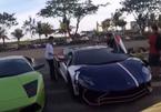 Cường Đô la lái siêu xe Lamborghini 35 tỷ của Minh Nhựa lấn làn