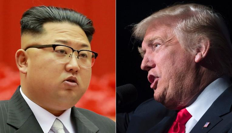 Mỹ đánh Triều Tiên, Trump, Triều Tiên, Kim Jong Un, chiến tranh