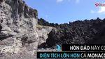 Cận cảnh hòn đảo mới hình thành từ núi lửa giữa Thái Bình Dương