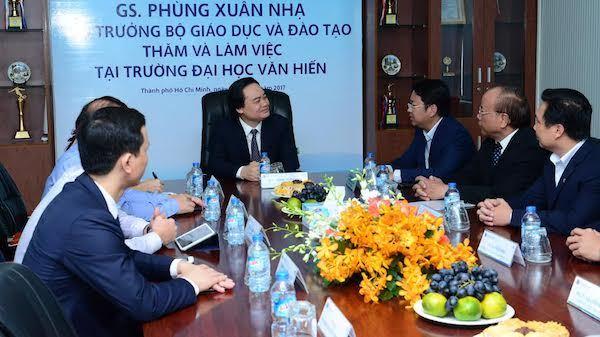 Bộ trưởng Phùng Xuân Nhạ, giáo dục đại học