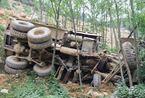 Xe tải lao vực sâu, 4 người chết thảm ở Mèo Vạc