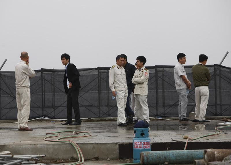 thanh tra xây dựng, khu đô thị Linh Đàm, trật tự xây dựng