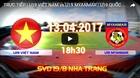Link xem trực tiếp U19 Việt Nam vs U19 Myanmar, 18h30 ngày 13/4