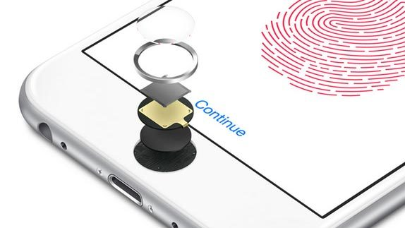 iPhone 8, Apple, cảm biến vân tay, Touch ID