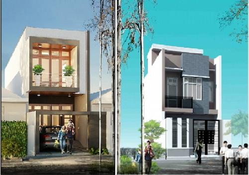 Tư vấn thiết kế nhà, xây nhà ống, chi phí xây nhà