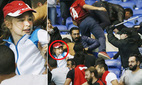 CĐV choảng nhau dữ dội trước trận Lyon - Besiktas