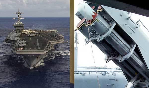 Mỹ chĩa tên lửa vào Triều Tiên, máy bay sẵn sàng xuất kích