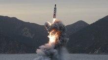 Triều Tiên sẽ phóng tên lửa đạn đạo từ tàu ngầm?