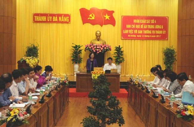 Đà Nẵng muốn thí điểm mô hình quận, huyện, xã chỉ có UBND