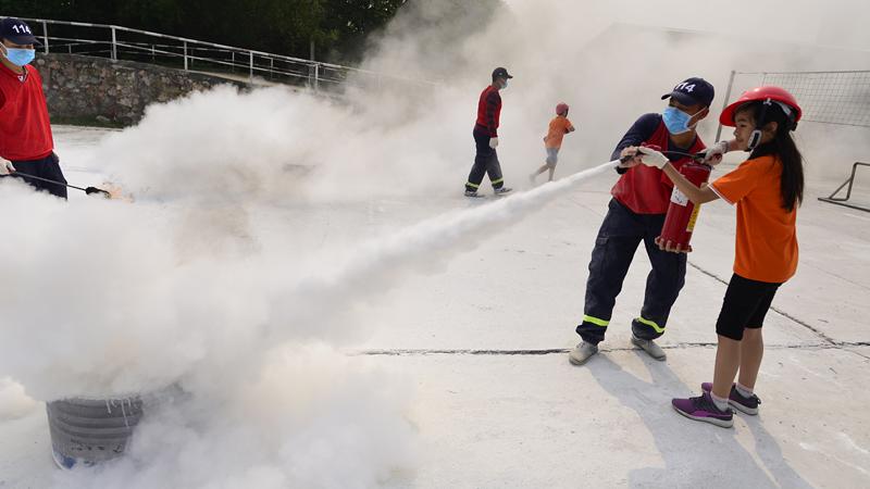 Phòng cháy chữa cháy, Lớp học thoát hiểm, phòng vệ thông minh, học trò