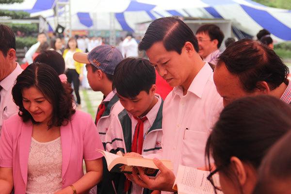 Sôi động ngày Sách Việt Nam tại Bắc Ninh