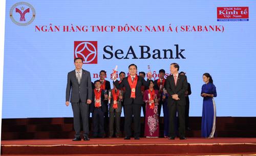 SeABank lần thứ 8 đạt thương hiệu mạnh Việt Nam