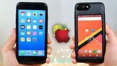 Ốp điện thoại tích hợp smartphone Android vào iPhone