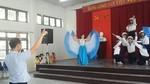 Tiết mục múa theo nhạc đặc biệt của học sinh khiếm thính