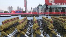 Triều Tiên duyệt binh lớn kỷ niệm ngày sinh ông Kim Nhật Thành