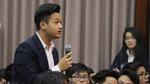 """Học sinh Nguyễn Siêu nói tiếng Anh """"siêu đỉnh"""" với MC gốc Việt"""