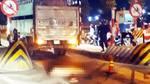 Thiếu tá CSGT bị xe tải tông tử vong trong đêm