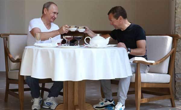 Tổng thống Putin, Thủ tướng Medvedev, lãnh đạo Nga, Tổng thống Nga